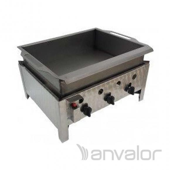 LÁNGOSSÜTŐ, asztali PB lángossütő három zónás