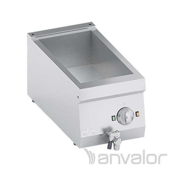 MELEGENTARTÓ, elektromos, 1 medencés, GN1/2-GN1/4, asztali