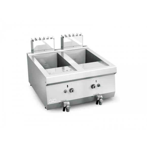 IPARI OLAJSÜTŐ, gázüzemű, 600-as, 2 x 8 literes, asztali
