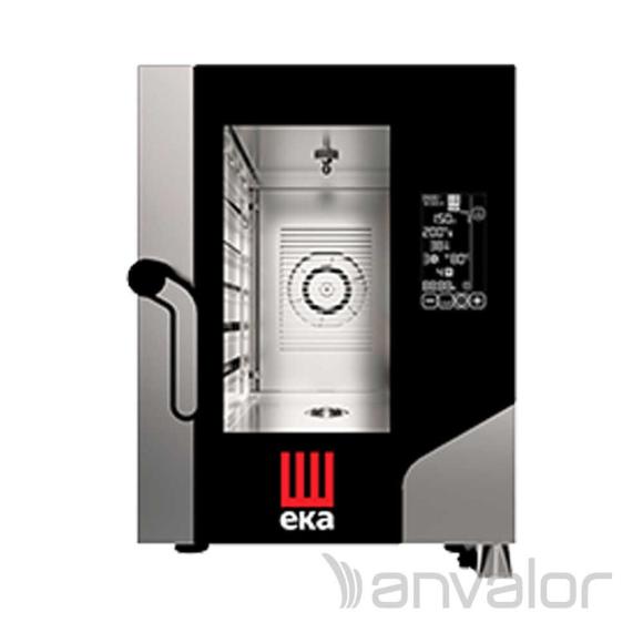 KOMBI SÜTŐ-GŐZPÁROLÓ, elektromos, érintőképernyős, 6 tálcás