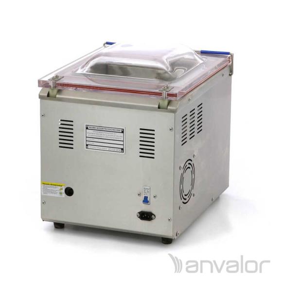 VÁKUUMCSOMAGOLÓ, digitális, 280 mm-es hegesztés, asztali